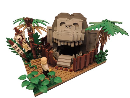 LEGO The Secret of Monkey Island - The Gigantic Monkey Head