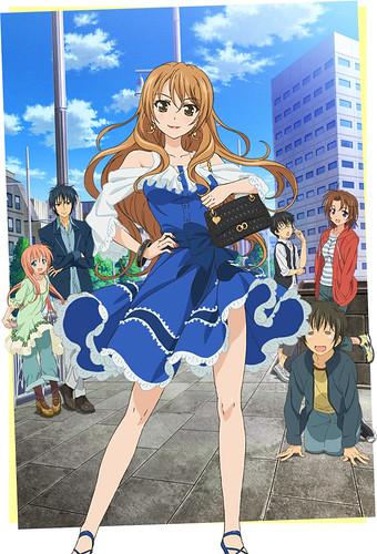 130611(1) - 「竹宮悠由子」輕小說《ゴールデンタイム -Golden Time-》(青春紀行 )將在秋天放送電視動畫版、首張海報大公開!