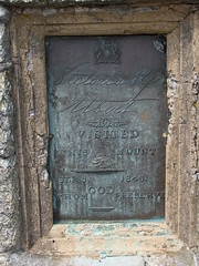 Photo of Victoria and Albert of Saxe-Coburg and Gotha bronze plaque
