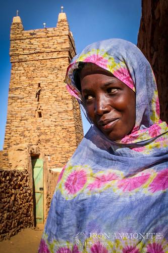 africa people sahara girl mosque mauritania mauretania chinguetti adrar