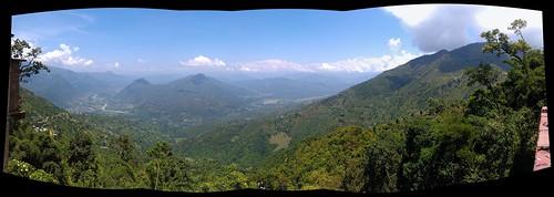 nepal mountain temple himalayas manakamana