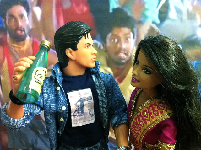 1234 get on the dance floor with priyamani srk doll for 1234 get on the dance floor video song