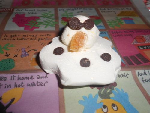 Lush The Melting Snowman Bath Melt