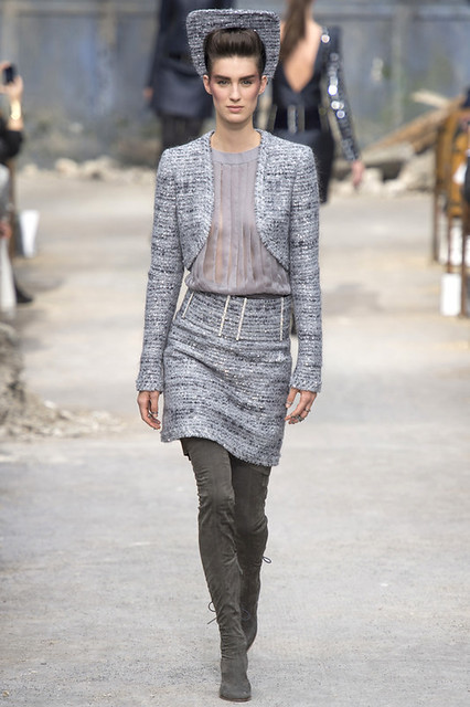 Hannah Duke - Chanel Haute Couture AW13 - www.MyFrenchLife.org