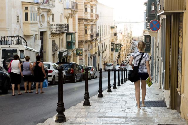 Valletta Street / Malta