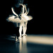 Ballet Swans by Edward Langley
