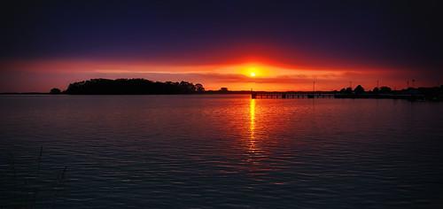 sunset 3 exposure cloudy hdr eureka