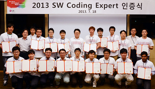 SW Coding Expert 인증식 현장
