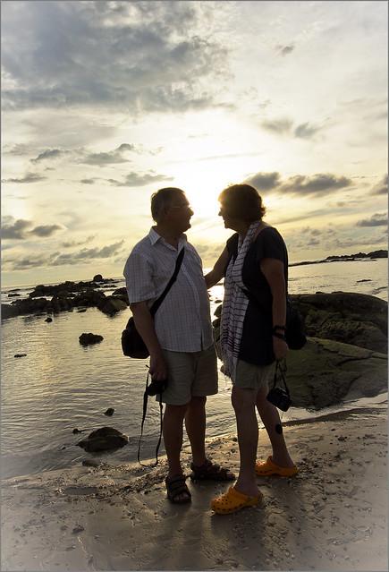 Mum and Dad at Khao Lak