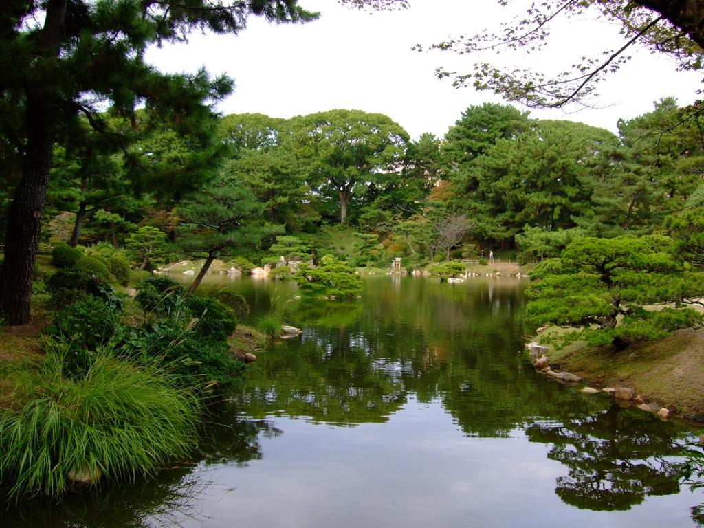 Japanese Garden in Hiroshima 1