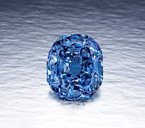 Second largest Fancy Color Blue Diamond of the World - Wittelsbach