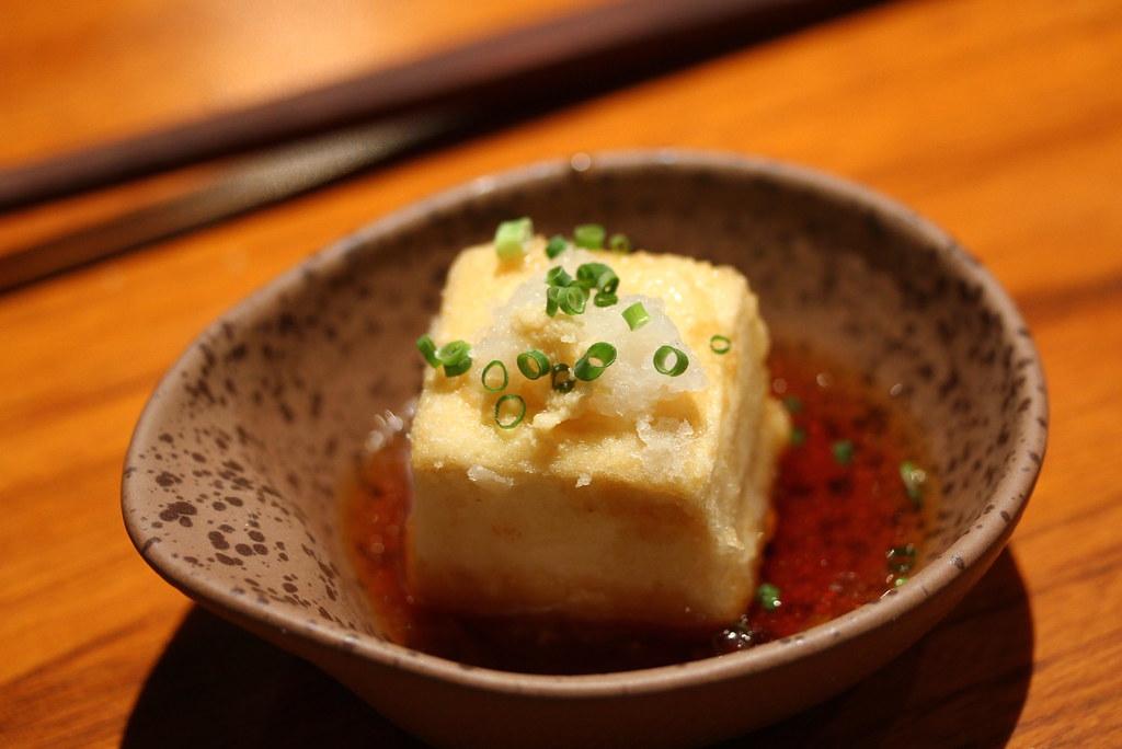 mezza9: Agedashi tofu