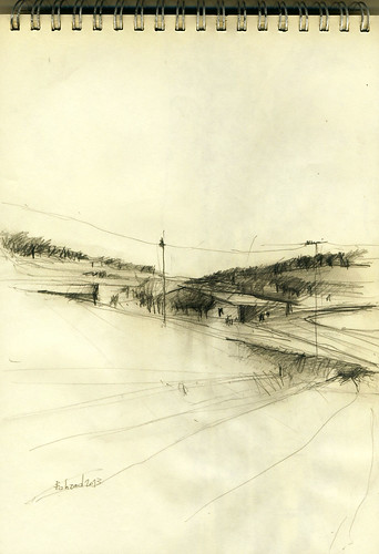 On the Road (Saman) Sketch1 by Behzad Bagheri Sketches