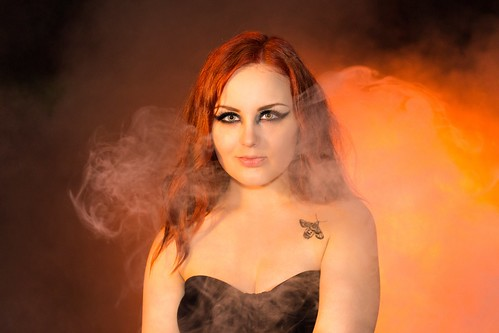Infernal (Koochie Koo With Backlit Smoke), Shrub Hill Common by flatworldsedge