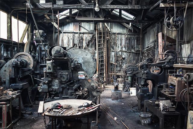 219-365 - @ the blacksmith