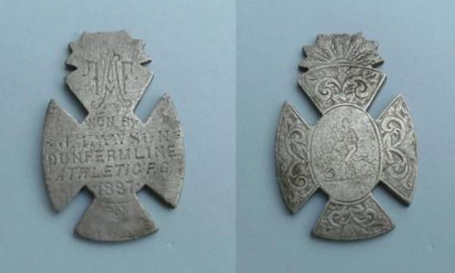 Dunfermline Athletic medal