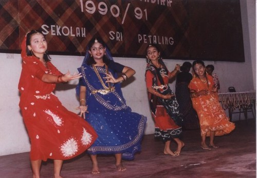 Me doing an Indian dance for a school concert