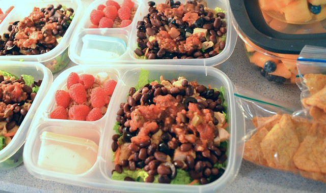 4 Workday Lunches & Snacks