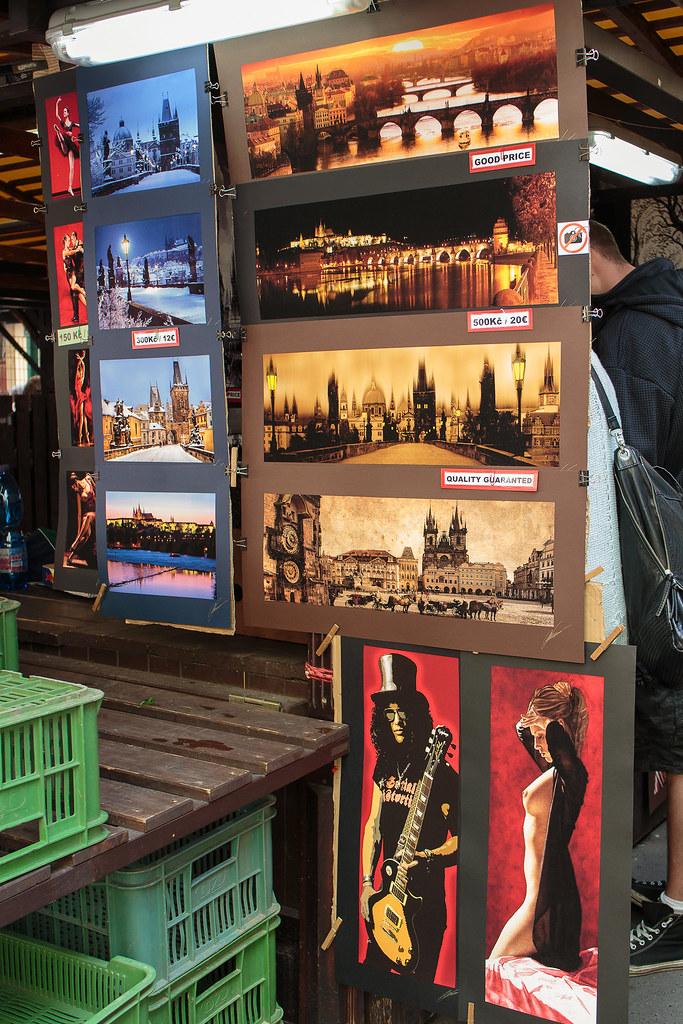 תמונות של פראג בשוק