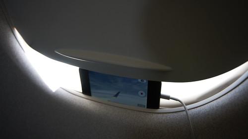 iPhone 飛行機