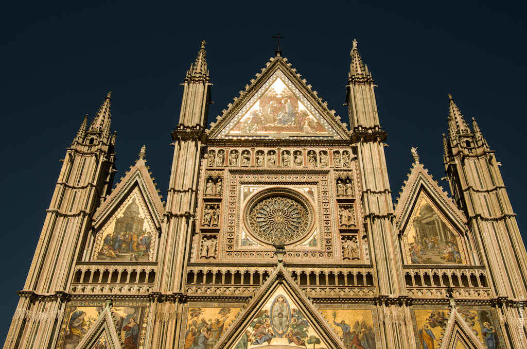 Italy, Beautiful Dome of Orvieto