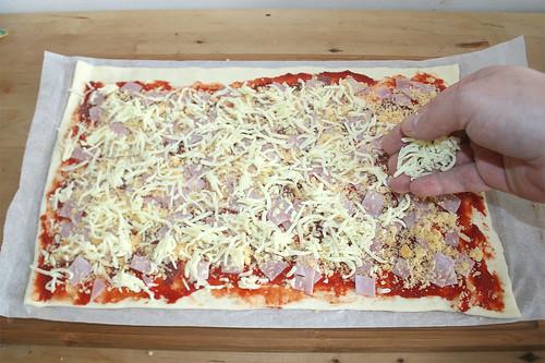 09 - Käse verteilen / Add cheese