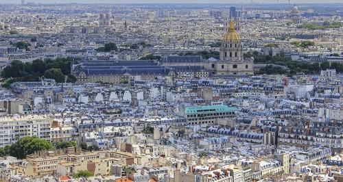 Paris Cityscape - Les Invalides by Sameer Gharat
