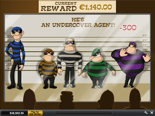 free Cops and Bandits Line-Up Bonus