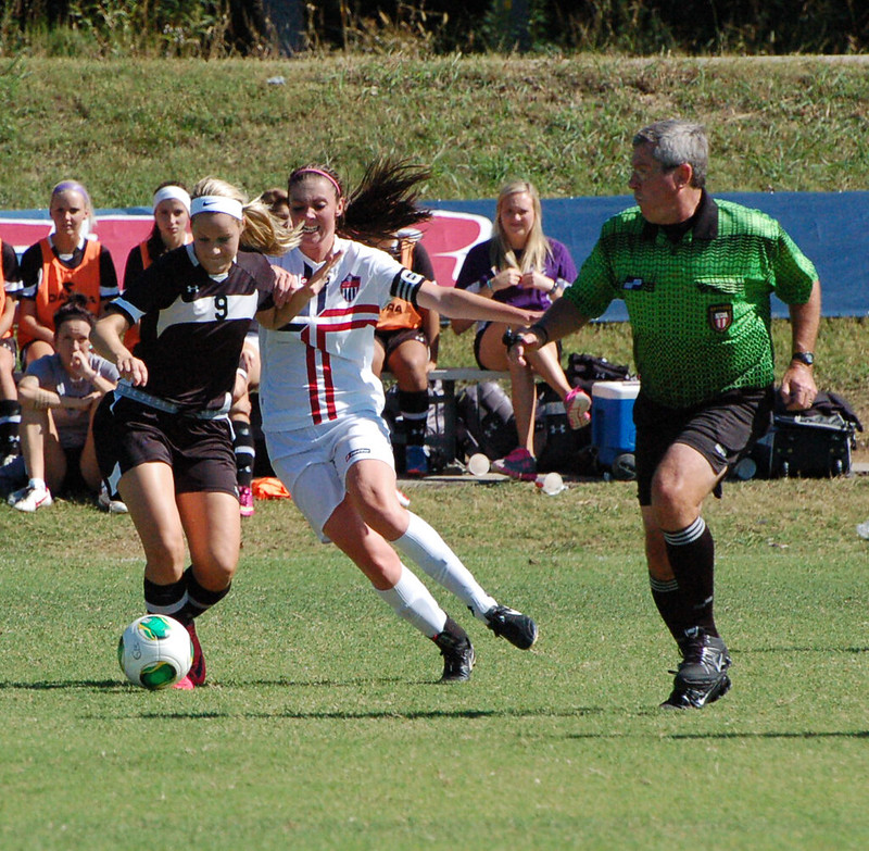 HC 13 Women's Soccer Game v. Bellevue