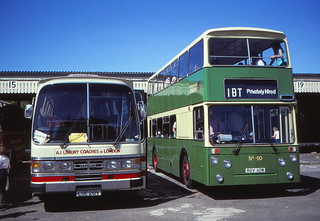 Gt Yarmouth coach station in August 1981 A (c) David Bell