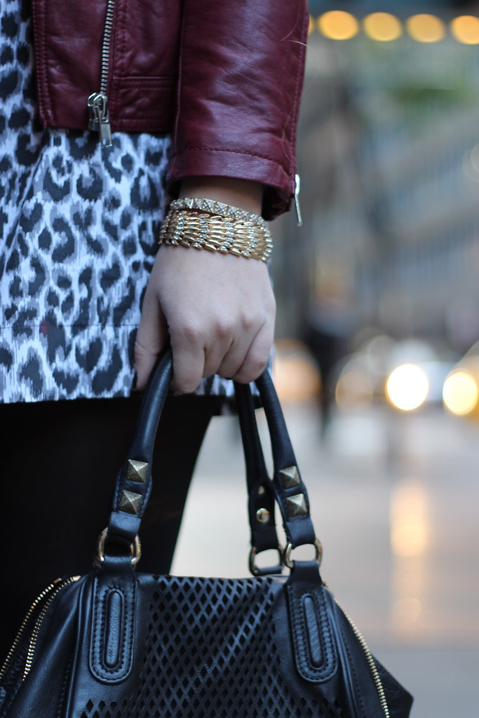 Living After Midnite: Leopard Skirting Around + ILY Couture Giveaway
