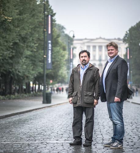 2013-09-05-183129 - Oslo - Carlos & John-Patrick-2
