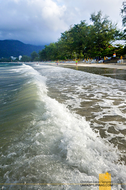Morning Swim at Phuket's Patong Beach
