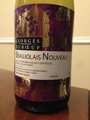 2013 Georges Duboeuf Beaujolais Nouveau
