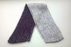 Fisherman's Rib scarf