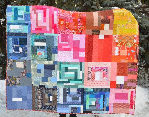 Slab quilt for Calgary