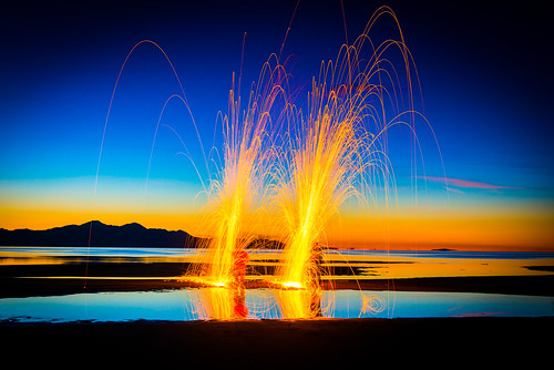 longexposure light lightpainting abstract motion color beautiful digital landscape fire golden utah cool nikon colorful warm motionblur greatsaltlake photowalk brilliant d800 steelwool worldwidephotowalk scottkelbyworldwidephotowalk