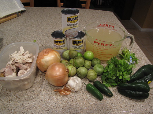 Pozole Verde Ingredients