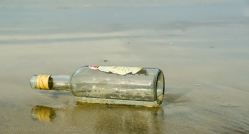 Message in a bottle?