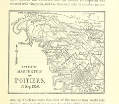 """British Library digitised image from page 83 of """"Famous British Battles, from Crécy to Assye ... With original plans and maps. And illustrations by R. Caton Woodville"""""""