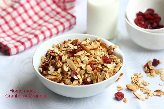 Cranberry- granola