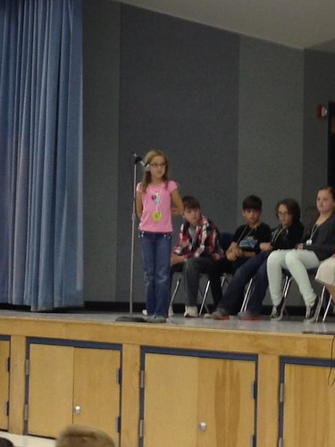 Annie in the Spelling Bee