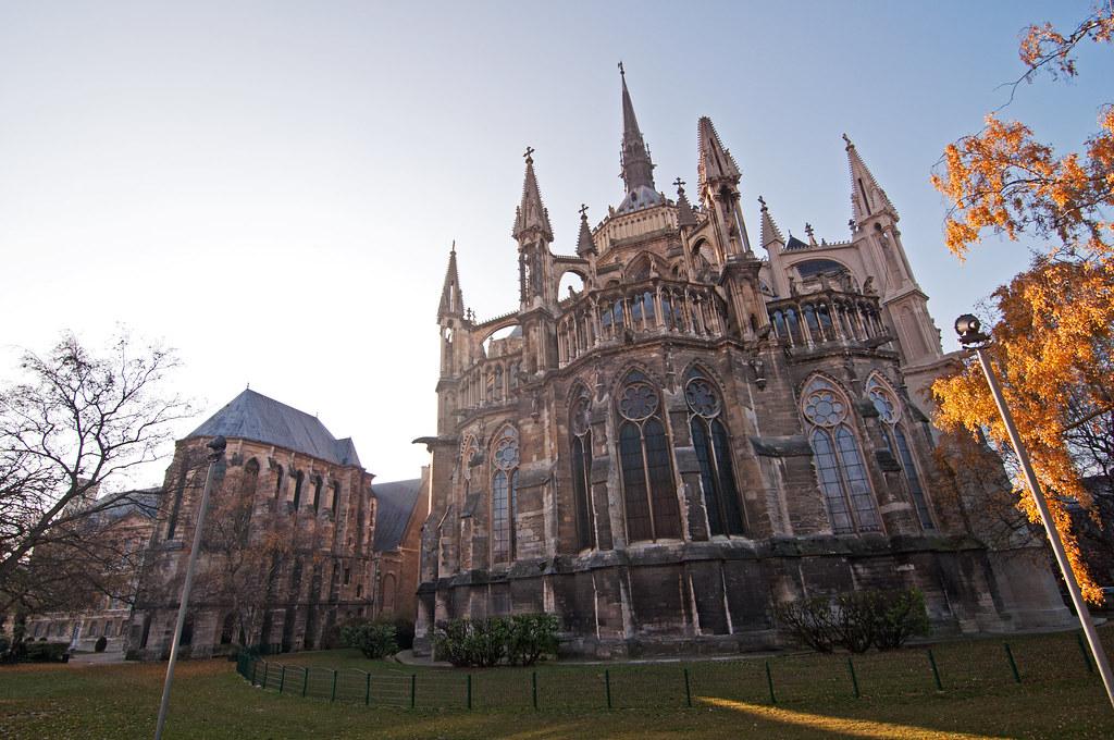 Cathédrale Notre-Dame de Reims - Frankreich