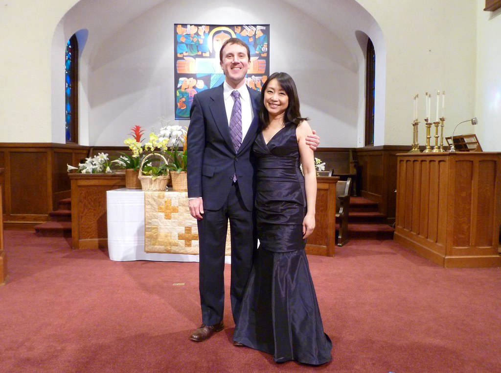 My friend and partner in crime, the lovely soprano Alice Ko, at our first vocal recital together in San Francisco at Seventh Avenue Presbyterian Church