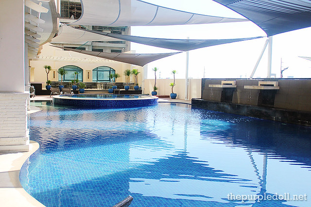 Swimming Pool at Bellevue Manila Main Wing