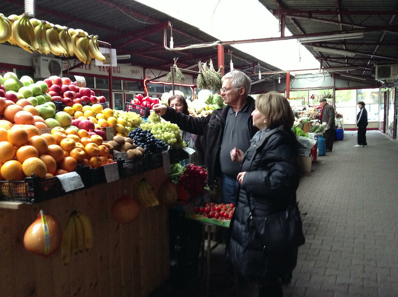 Indoor farmer's market