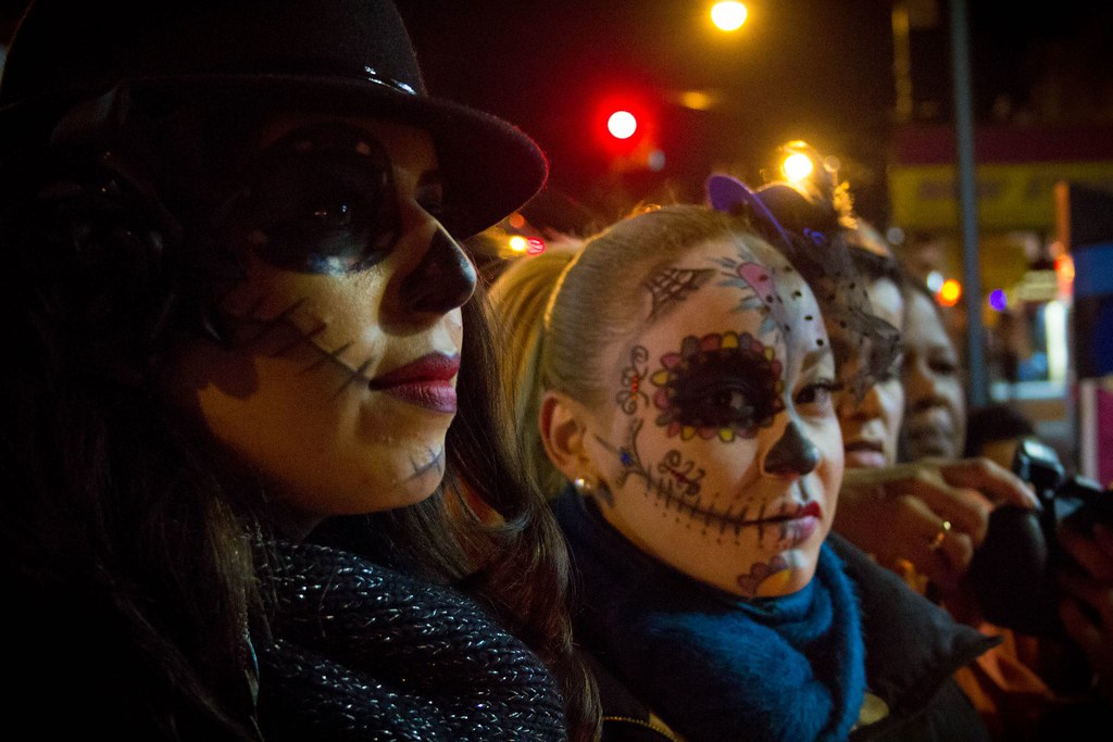 Dia De Los Muertos in Sunset Park, Nov. 1, 2012. PHOTO: Jason Duaine Hahn