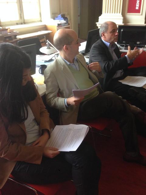 Conférence Ouvrons + les bibliothèques - Mayssa Labadlia, Patrick Weil et Jean-Louis Missika