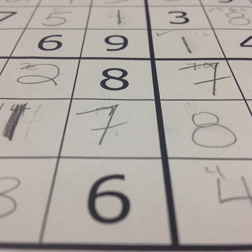 Group Sudoku challenges #100happydays Day 18