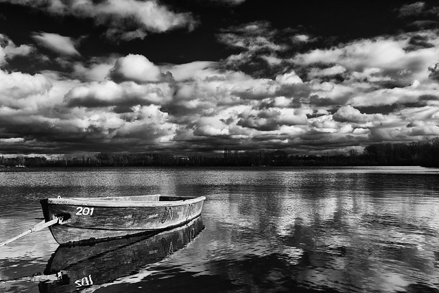 boat on the lake #6